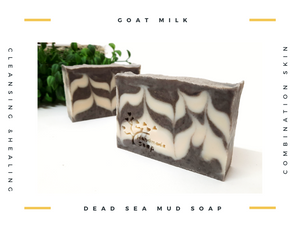 Goat Milk Dead Sea Mud 羊奶死海矿物泥皂