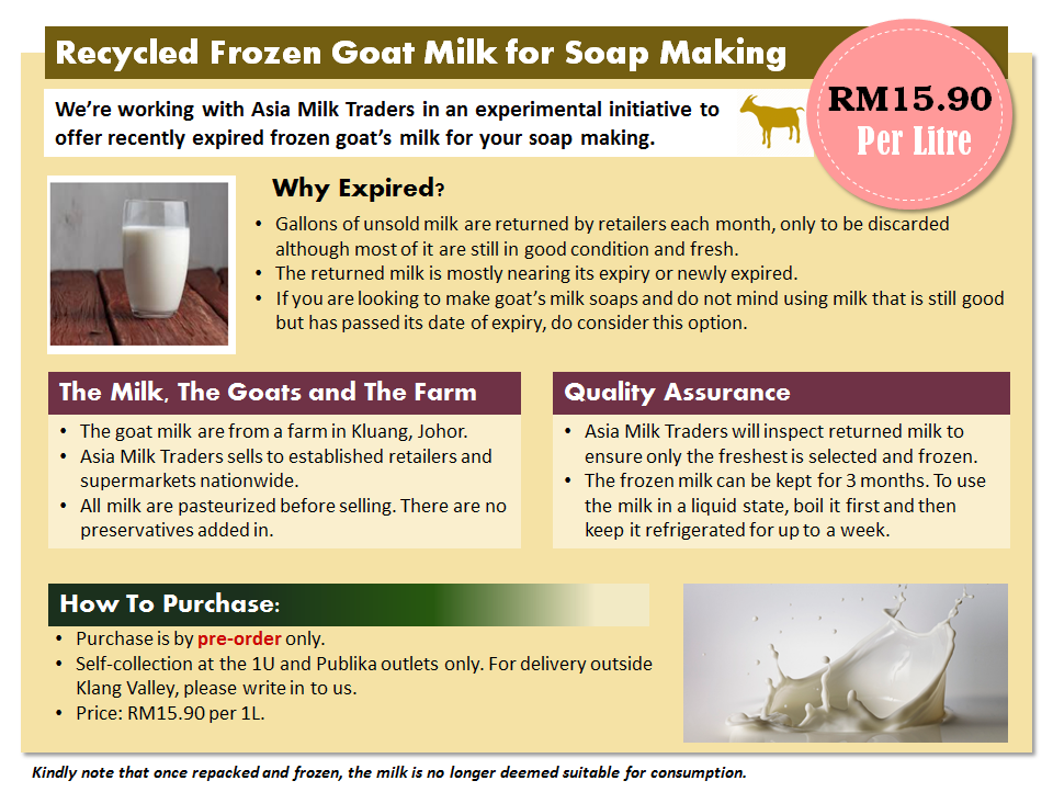 Soap Artisan | Recycled Goat's Milk Initiative