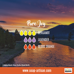 Soap Artisan | Pure Joy Blend with Blood Orange and Bergamot