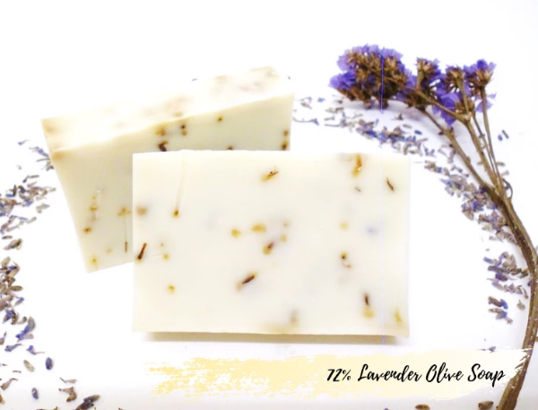 72% Olive Oil with Lavender Soap 72%的橄榄油薰衣草香皂