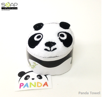 Soap Artisan | 100% Cotton Panda Towel