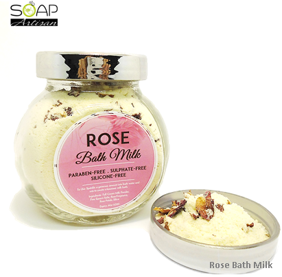Soap Artisan | Rose Bath Milk Powder