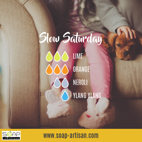 Soap Artisan | Slow Saturday Blend with Neroli Oil