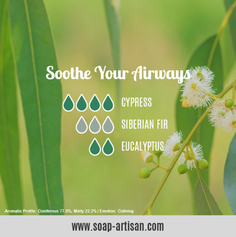 Soap Artisan | Soothing Blend with Siberian Fir Needle Essential Oil