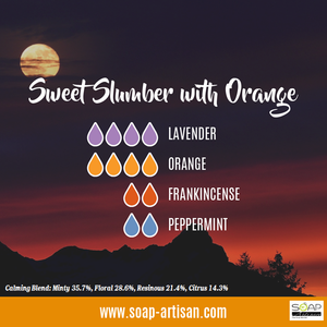 Soap Artisan | Sweet Slumber Blend with Orange