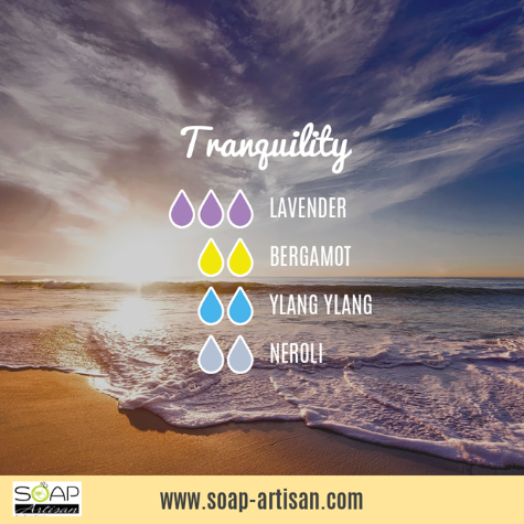 Soap Artisan | Tranquility Blend with Neroli Oil