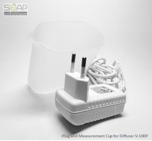 Soap Artisan | Plug and Measurement Cup for Ultrasonic Diffuser V-100P