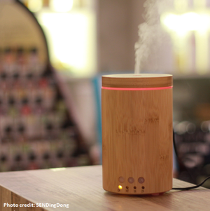 Soap Artisan | Bamboo Diffuser V-150B In Action