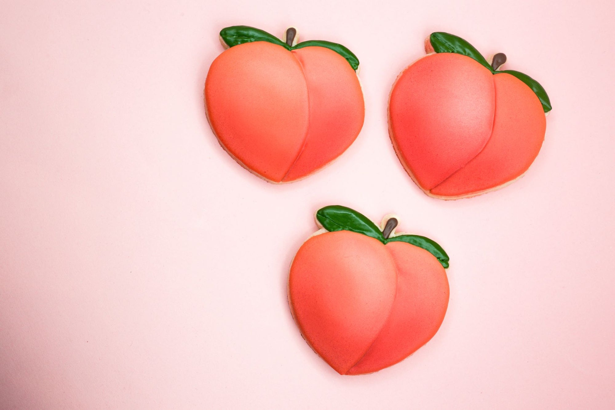 Peach Emoji Cookie Cutter - Dolce3D Cookie Cutters