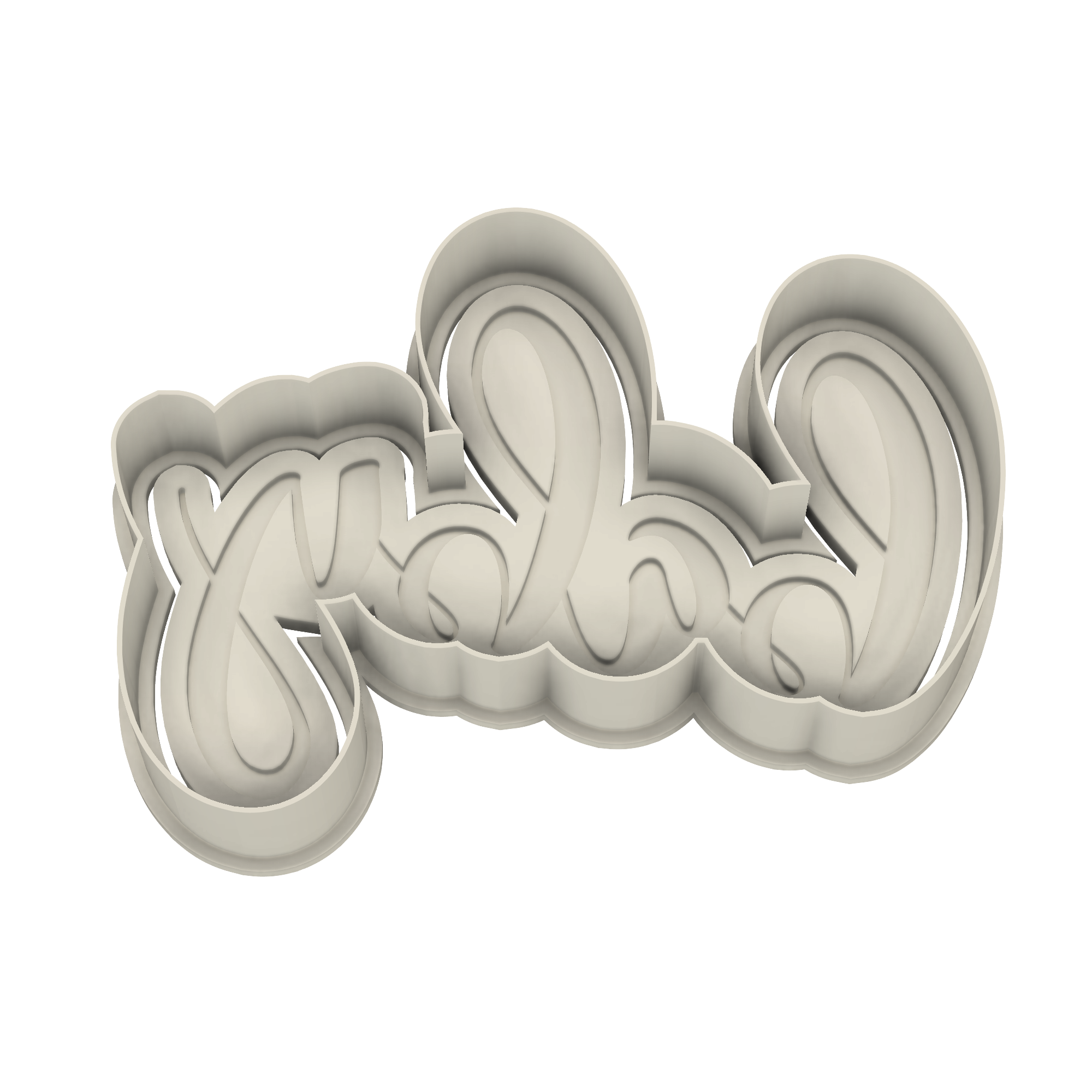Baby Cookie Cutter - Dolce3D Cookie Cutters