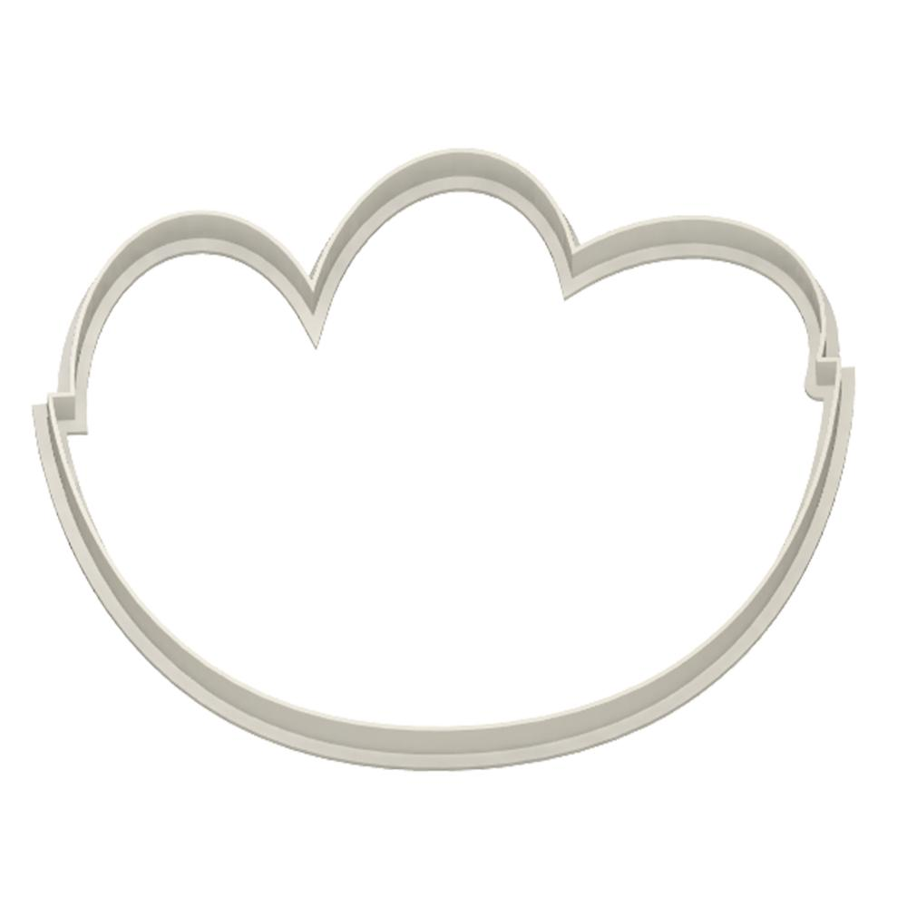 Eggs Basket Cookie Cutter - Dolce3D
