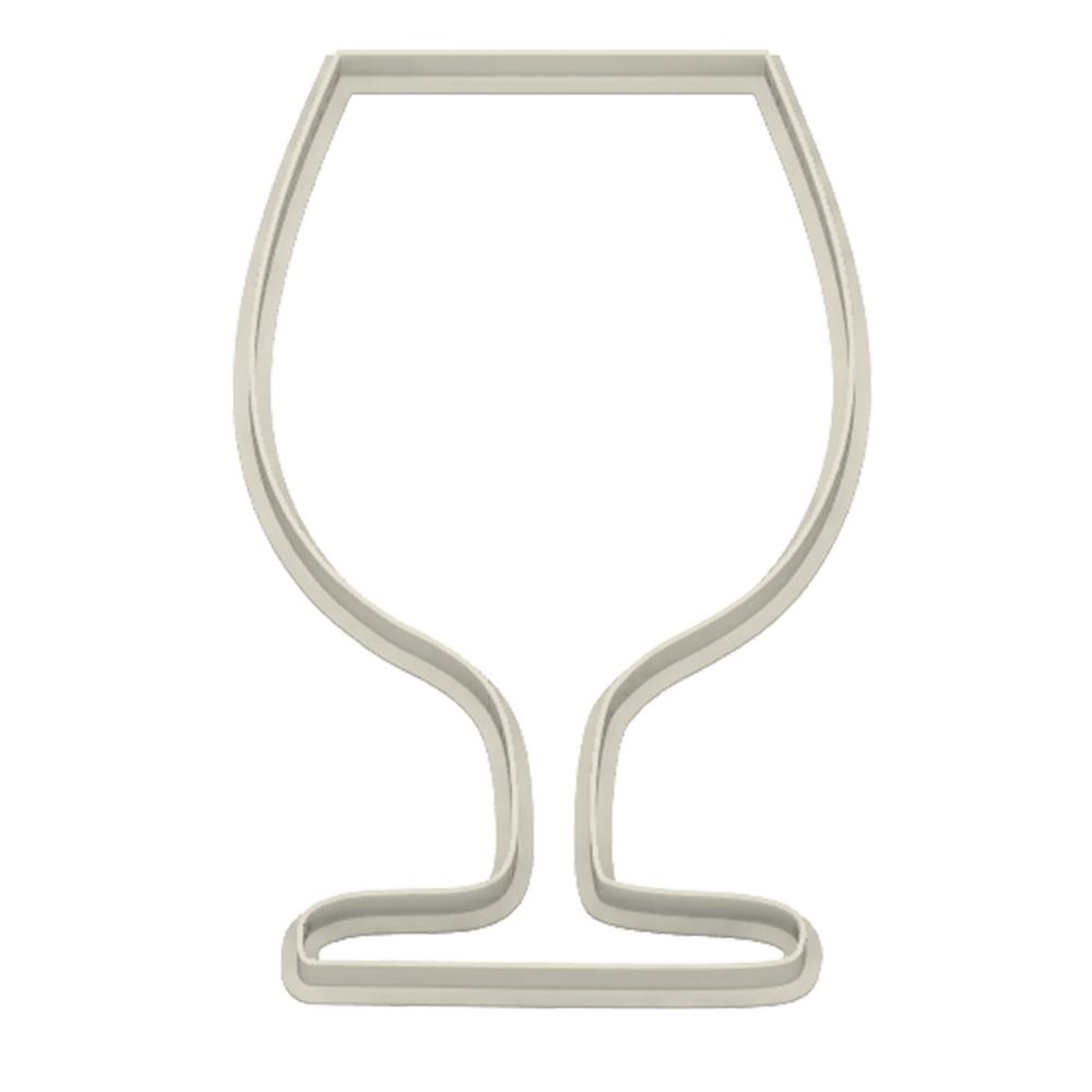 Cognac Glass Cookie Cutter - Dolce3D
