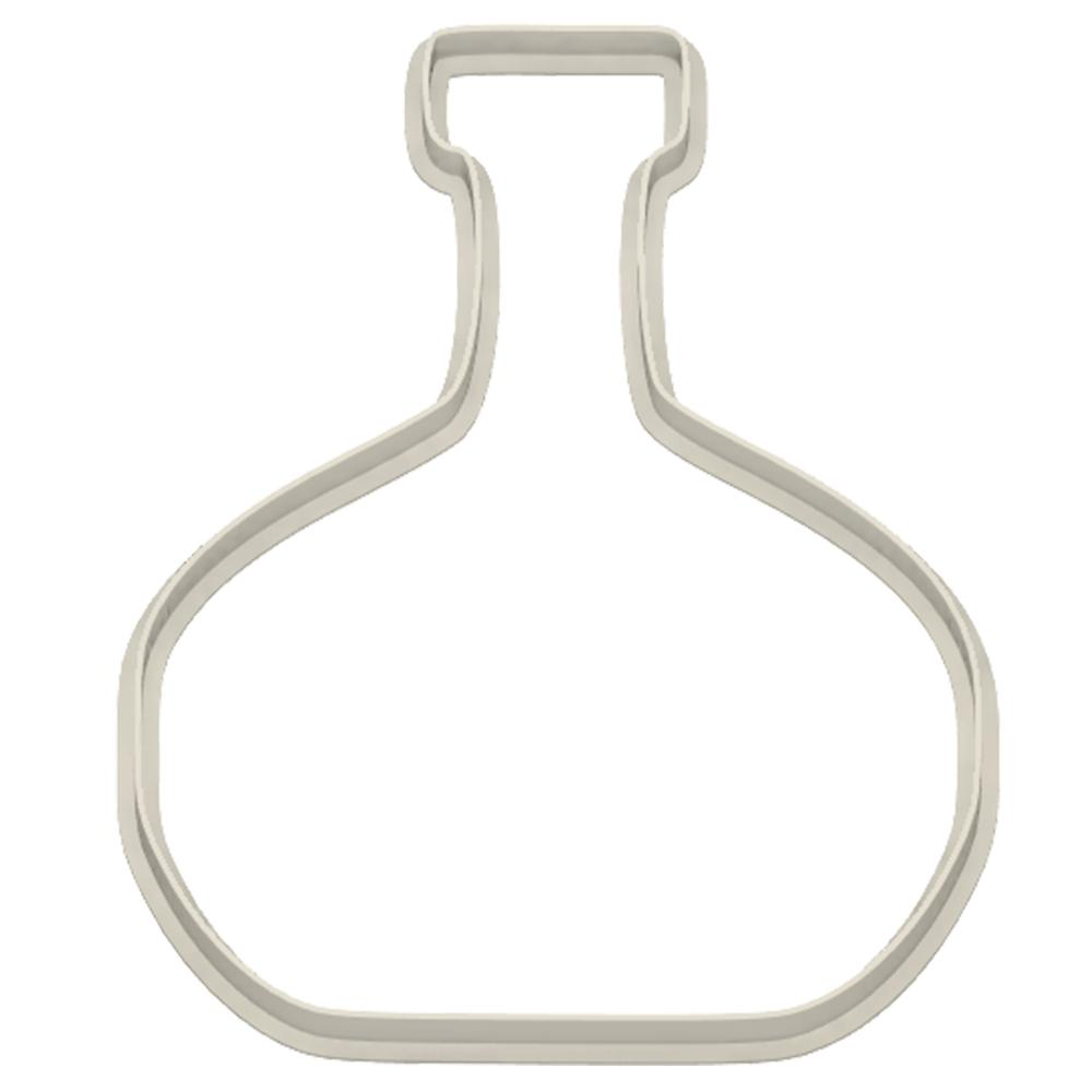 Cognac Bottle Cookie Cutter - Dolce3D