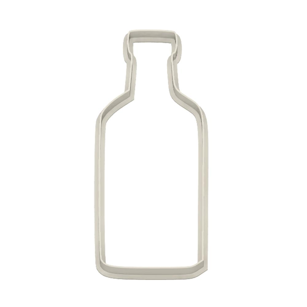 Tequila Bottle Cookie Cutter - Dolce3D Cookie Cutters