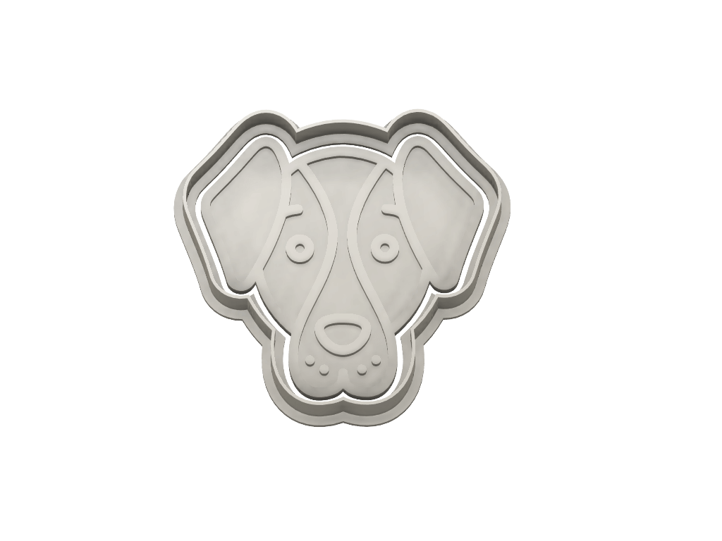 MINI DOG AVATAR g1 - Dolce3D Cookie Cutters