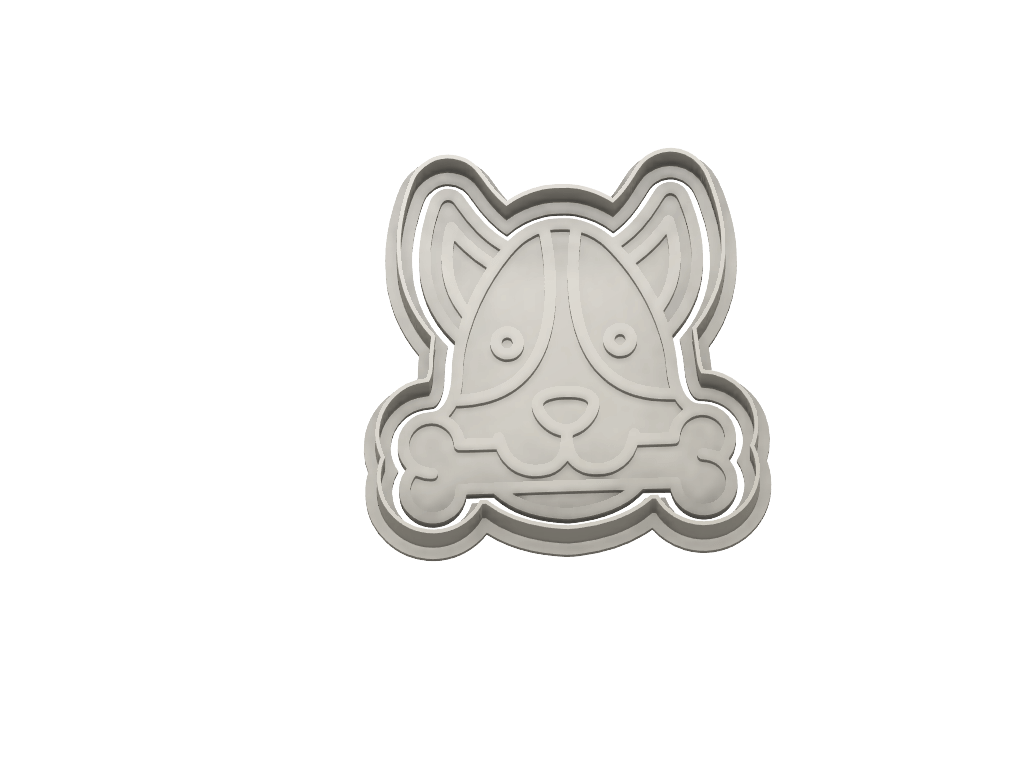 DOG AVATAR b1 - Dolce3D Cookie Cutters