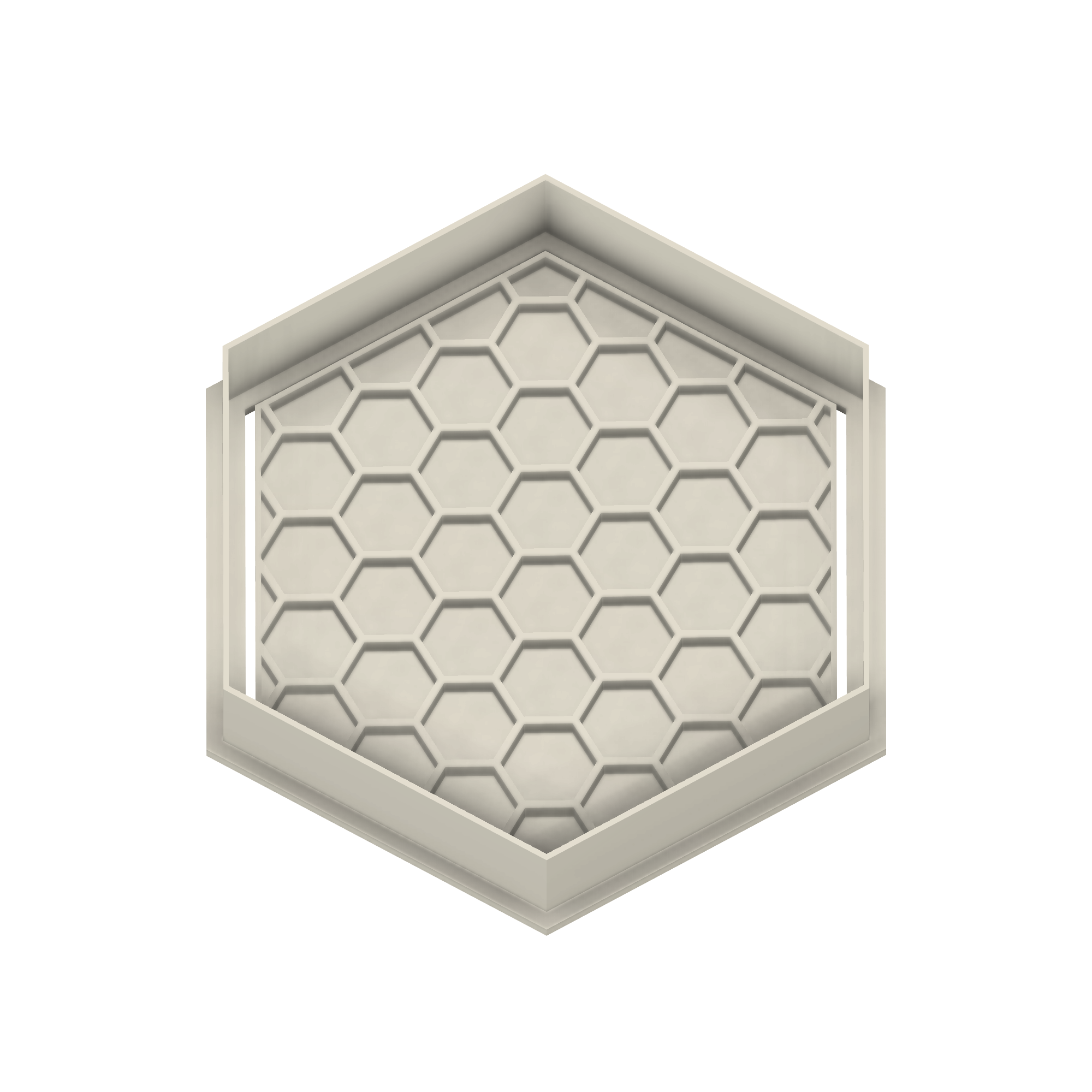 Honeycomb Hexagon Cookie Cutter - Dolce3D Cookie Cutters