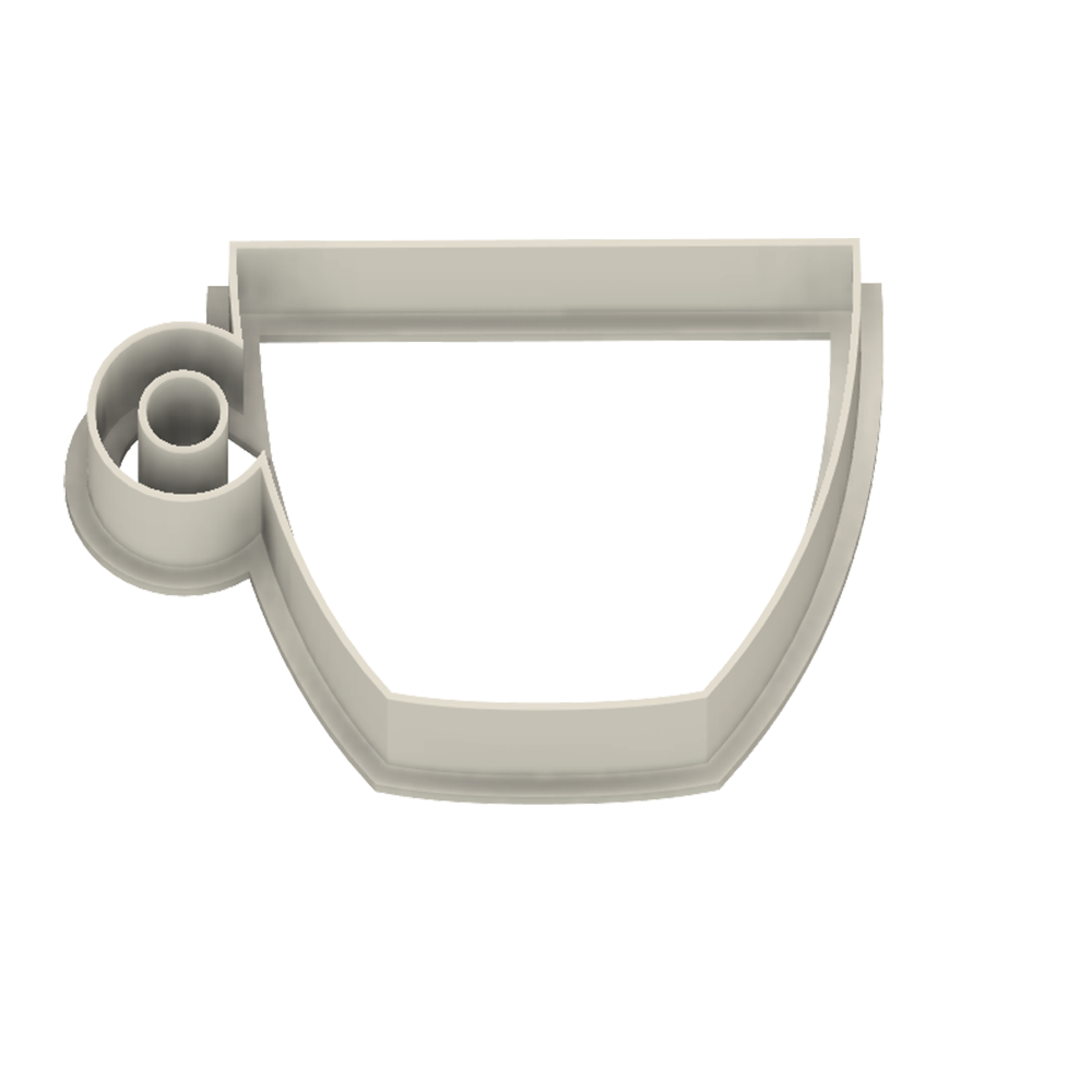Coffee Cup Espresso Cookie Cutter - Dolce3D