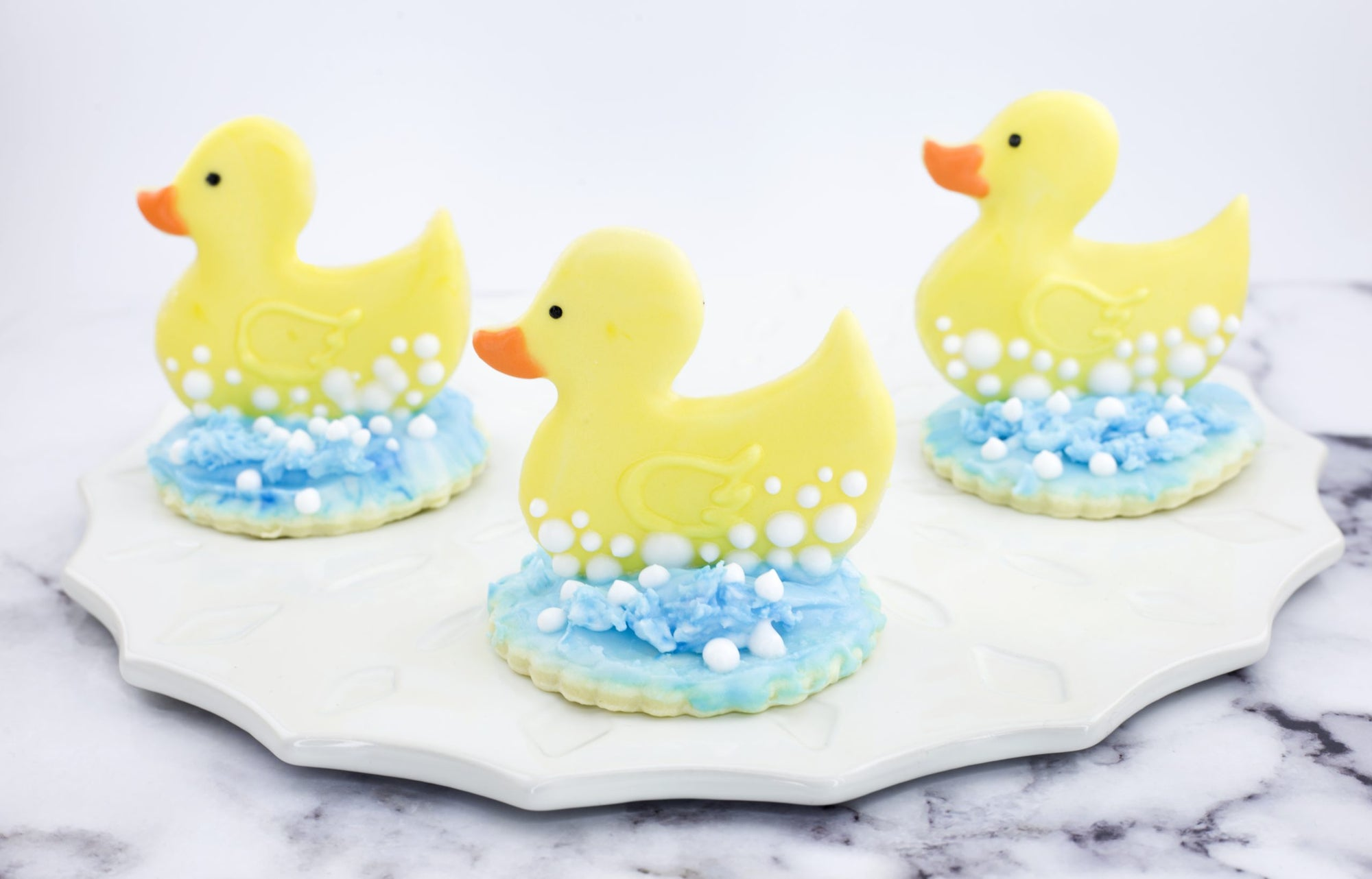 Duck Rubber Ducky Cookie Cutter - Dolce3D