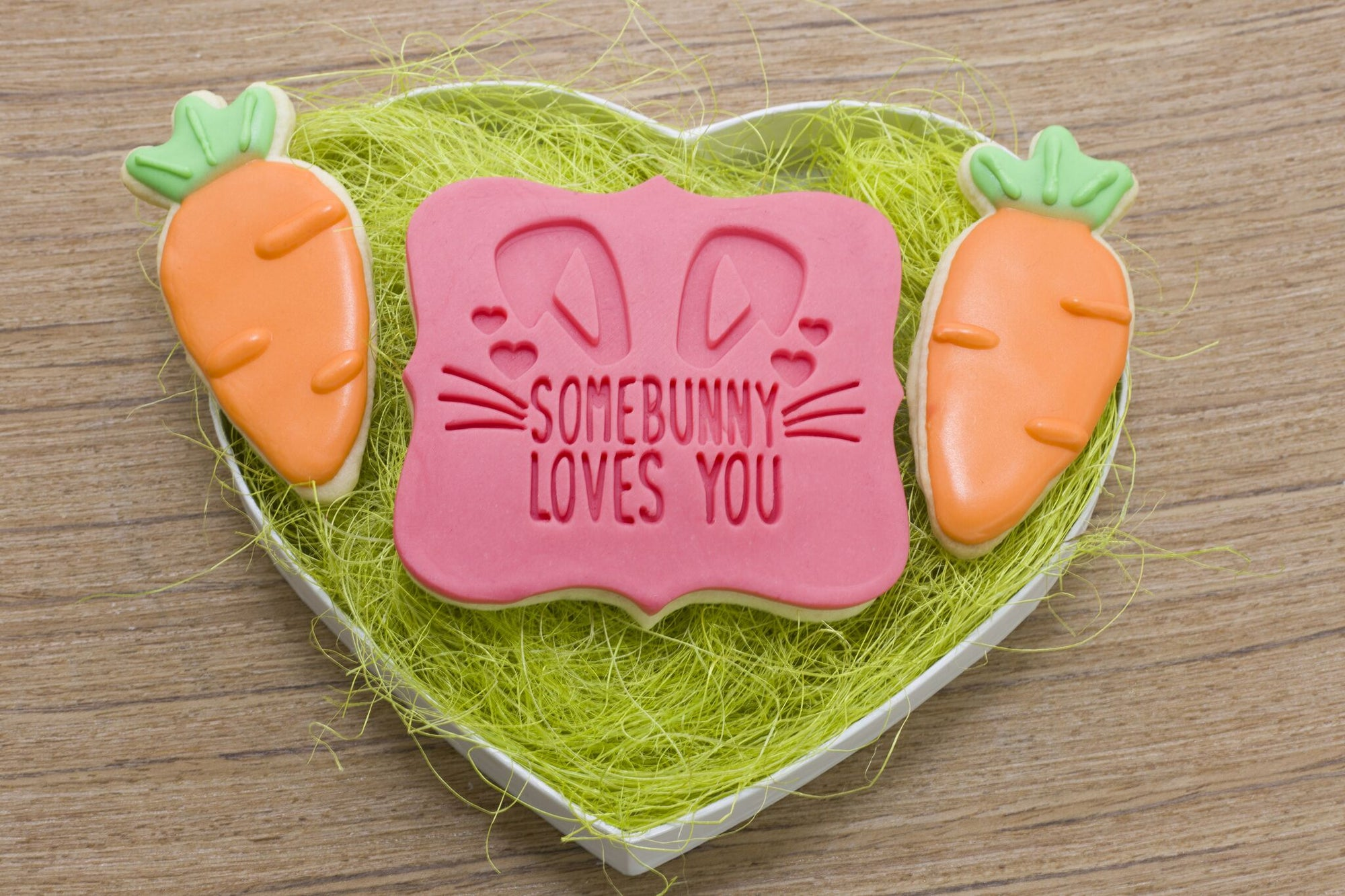 Simple Carrot Cookie Cutter - Dolce3D Cookie Cutters