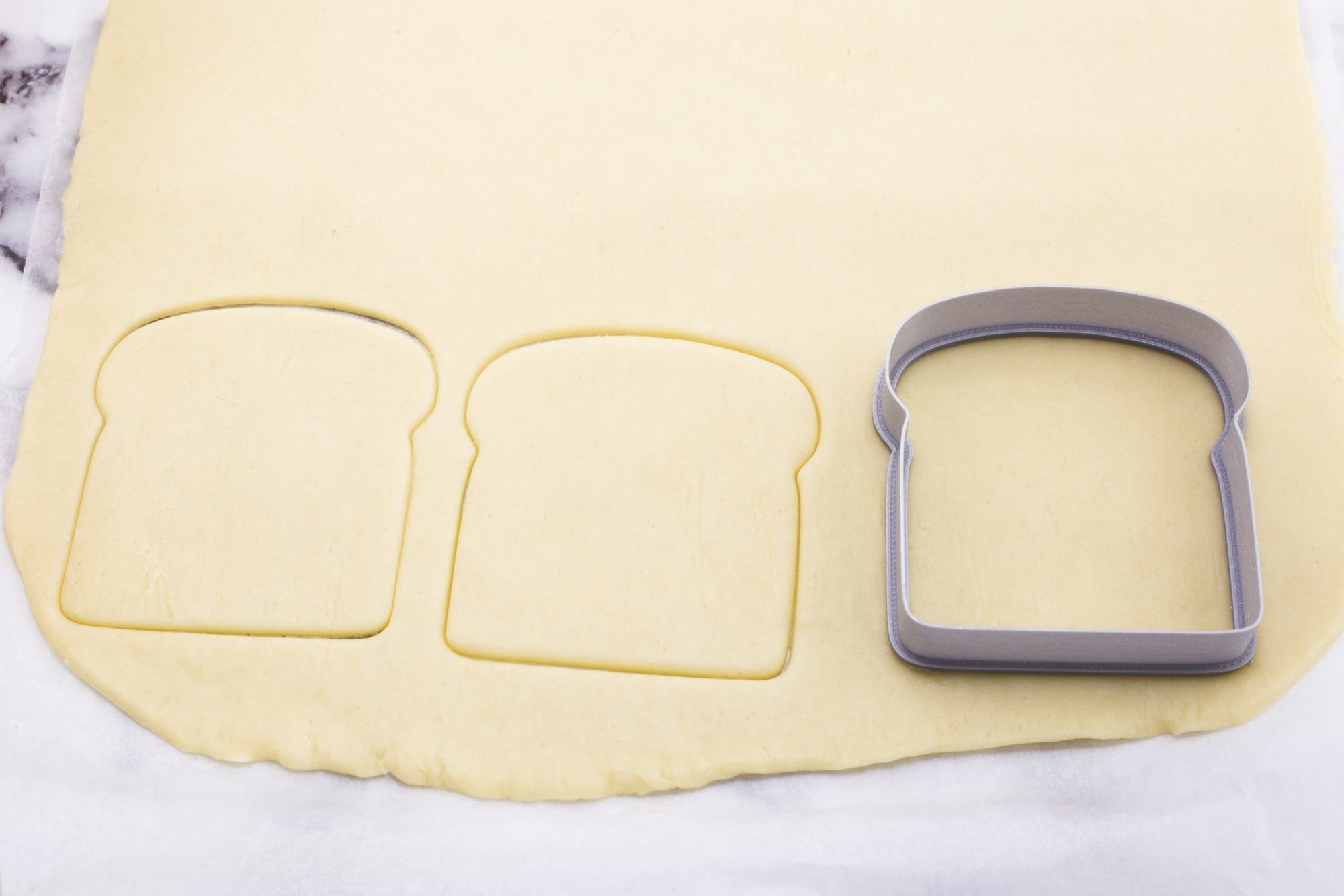 Toast Bread Slice Cookie Cutter - Dolce3D