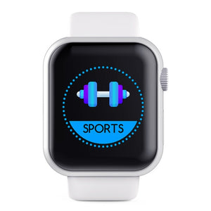 D20 Smart Watch Waterproof Sports Fitness Tracker Heart Rate Monitor Blood Pressure Bluetooth Smartwatch For Apple IOS Android