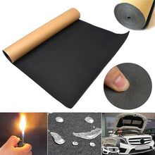 Carica l'immagine nel visualizzatore di Gallery, High-density 30 X 50cm Car Auto Van Sound Proofing Deadening Insulation 5mm Closed Cell Foam Efficient Sound Insulation Cotton