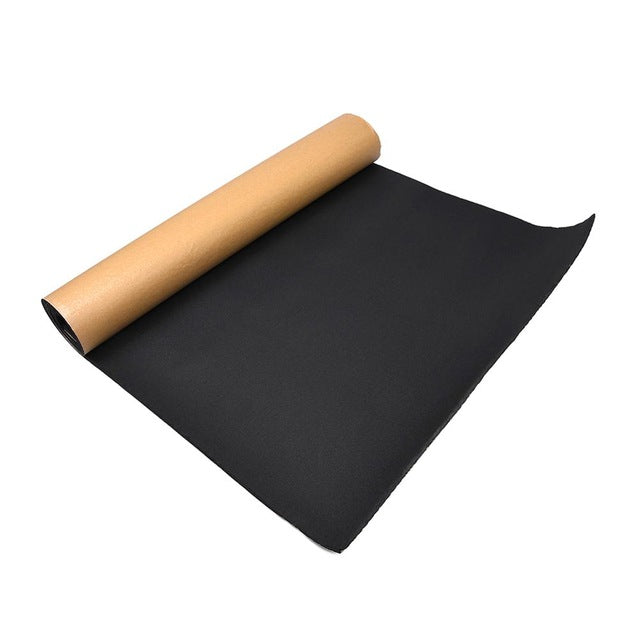 High-density 30 X 50cm Car Auto Van Sound Proofing Deadening Insulation 5mm Closed Cell Foam Efficient Sound Insulation Cotton