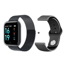 Carica l'immagine nel visualizzatore di Gallery, 2019 New Women Waterproof Smart Watch T80 Bluetooth Smartwatch For Apple IPhone Xiaomi Heart Rate Monitor Fitness Tracker