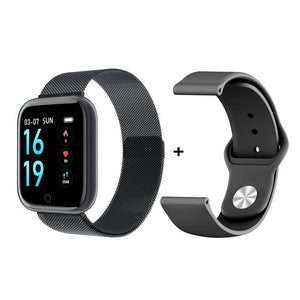 2019 New Women Waterproof Smart Watch T80 Bluetooth Smartwatch For Apple IPhone Xiaomi Heart Rate Monitor Fitness Tracker