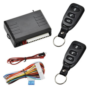 12/24V Car Remote Central Door Lock Keyless Remote Control Universal Car Alarm Systems Central Locking with Auto Remote Central