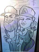 Load image into Gallery viewer, Live Caricature (Hourly Rate $195) No Package