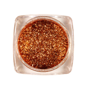 Eco-friendly Loose Glitter Eyeshadow Pigment| < Moroccan Bronze>