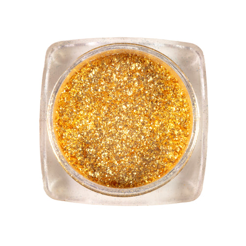 Eco- Friendly Loose Glitter Pigment Eyeshadow | <Golden Sands>