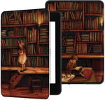 pochette kindle 2018 paperwhite design bibliotheque