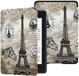 pochette kindle tour eiffel fermeture magnetique