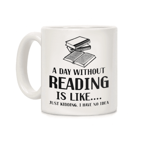 mug original citation reading is like pour lecteur