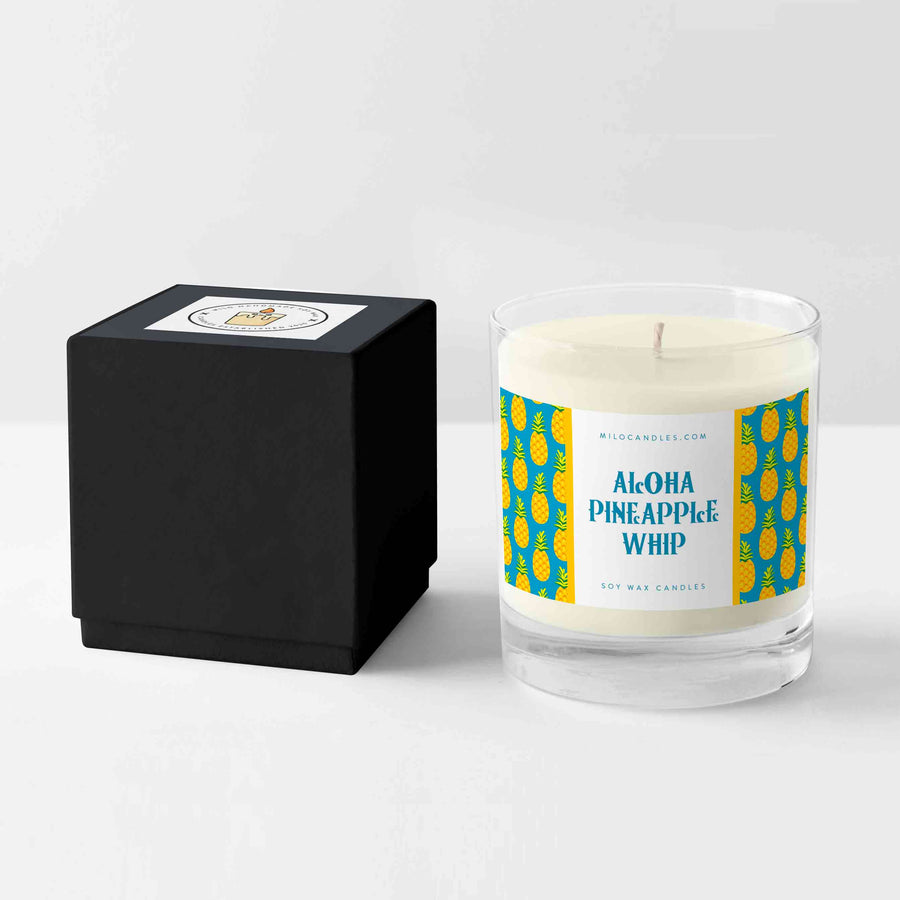 Disney Inspired Aloha Pineapple Whip Wax Candle
