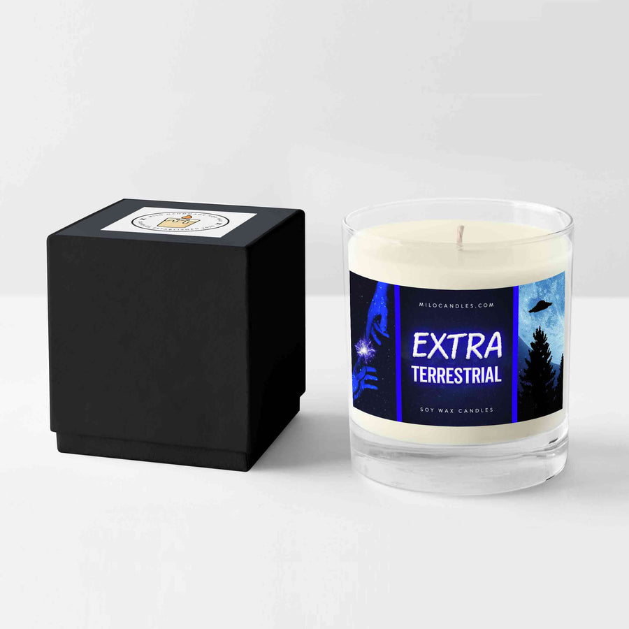 Extra Terrestrial Candle - Hand Poured With 100% Natural Soy Wax