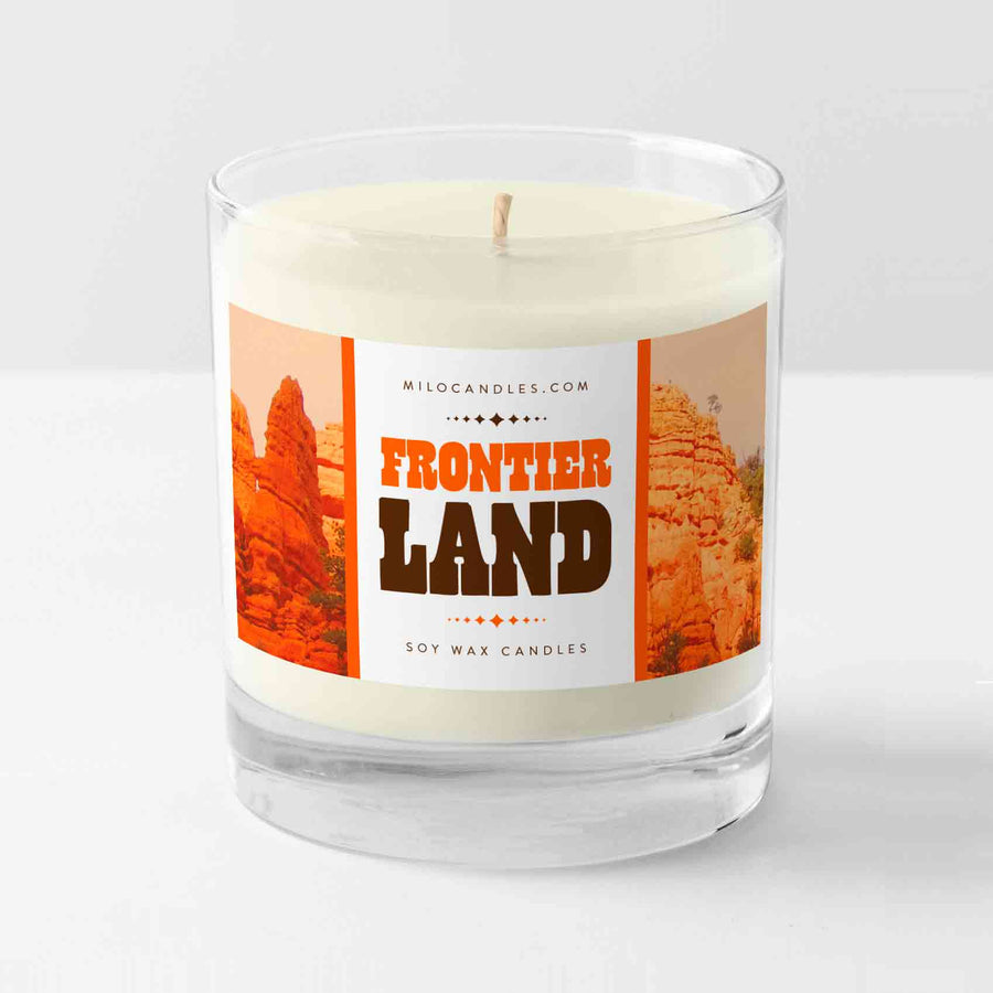 Frontier Land Candle - Handmade With 100% Natural Soy Wax