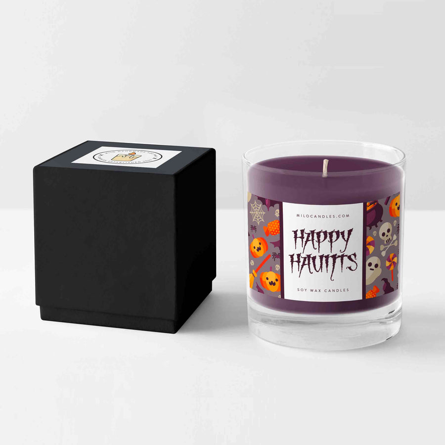 Happy Haunts Candle - Handmade With 100% Natural Soy Wax