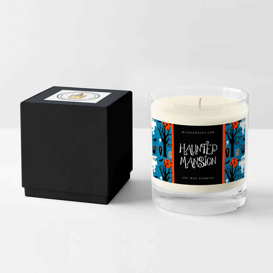 Haunted Mansion Candle - Handmade With 100% Natural Soy Wax
