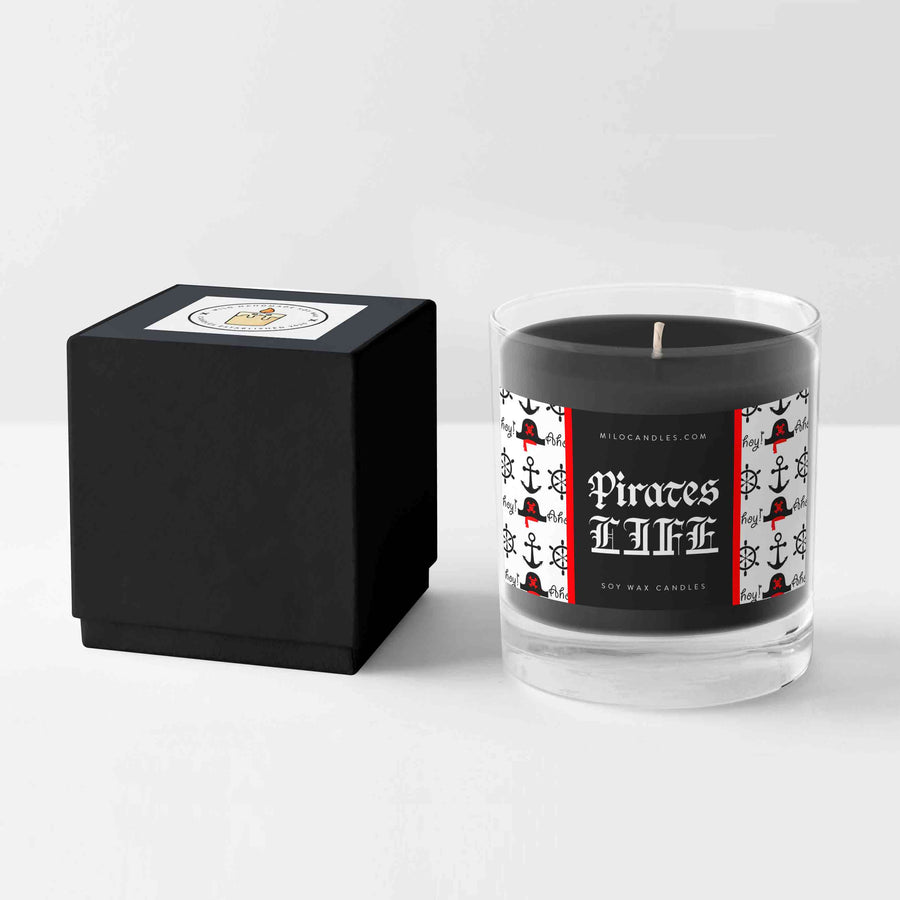 Pirates Life Candle - Handmade With 100% Natural Soy Wax