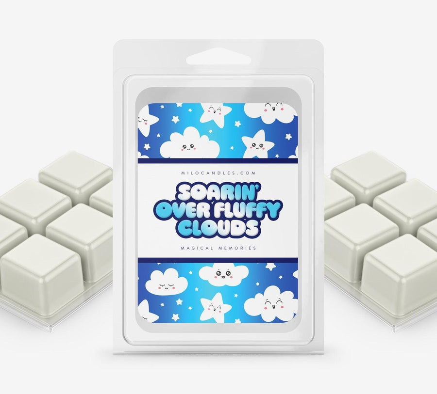 Soarin Over Fluffy Clouds Wax Melts - Hand Poured With 100% Natural Soy Wax