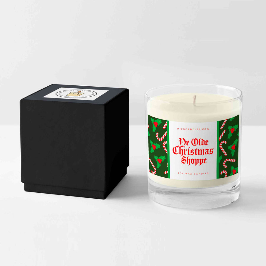 Ye Olde Christmas Shoppe Candle - Handmade With 100% Natural Soy Wax