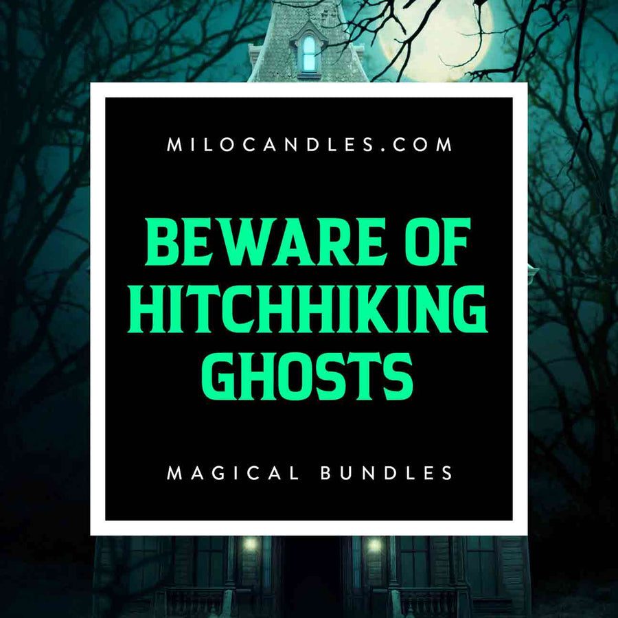 Beware of Hitchhiking Ghosts Bundle (Candle, Melts, Spray)