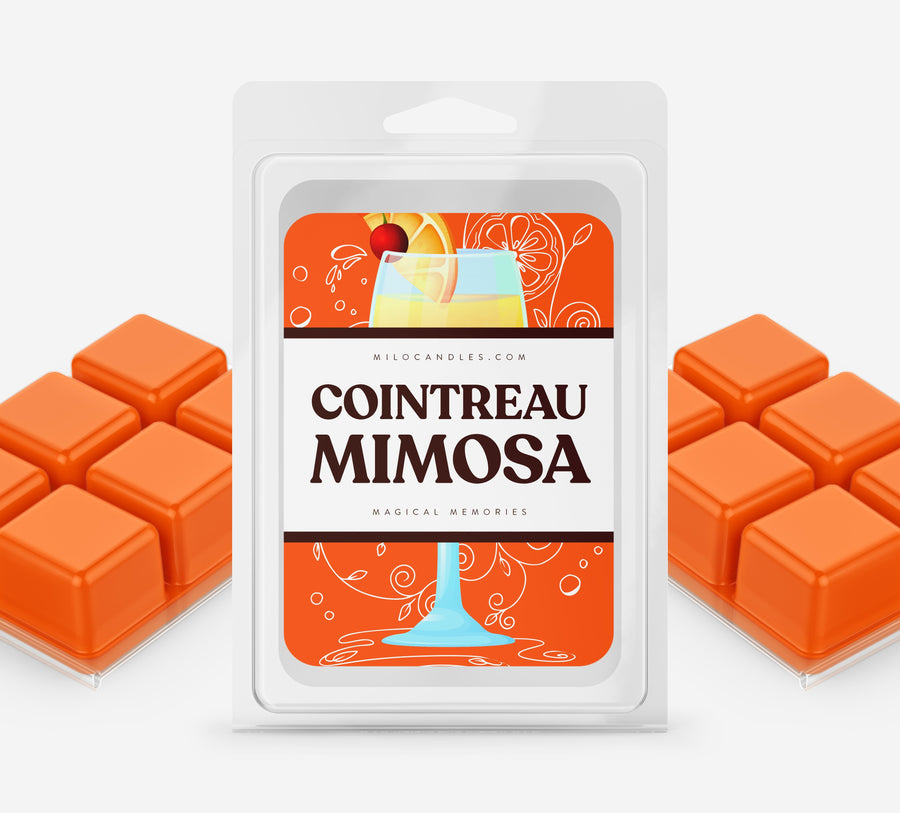 Cointreau Mimosa Wax Melts - Hand Poured With 100% Natural Soy Wax