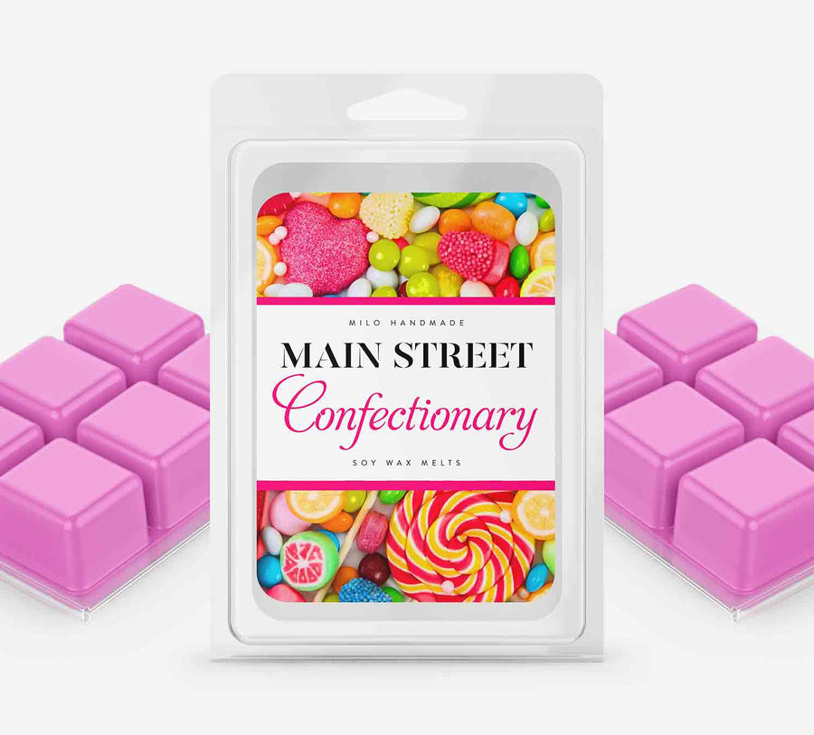 Main Street Confectionary Wax Melts - Hand Poured With 100% Natural Soy Wax