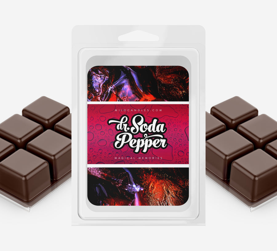 Dr Soda Pepper Wax Melts - Hand Poured With 100% Natural Soy Wax