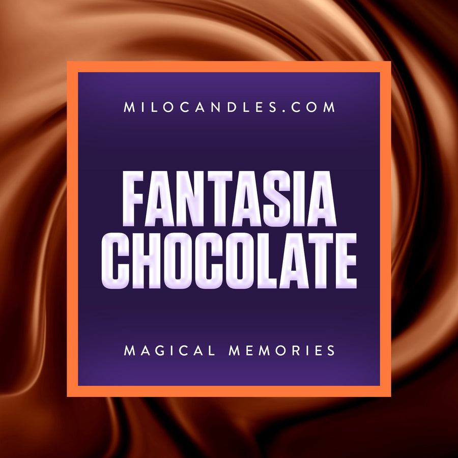 Fantasia Chocolate Candle - Handmade With 100% Natural Soy Wax